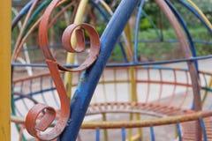 Detalle del patio Foto de archivo libre de regalías
