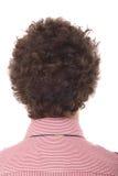 Detalle del pelo del hombre ocasional Fotografía de archivo