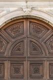 Detalle del portal en estilo del Gótico-renacimiento foto de archivo libre de regalías