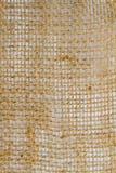 Detalle del primer de la arpillera Fotos de archivo libres de regalías