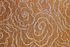 Detalle del primer del fondo de la textura del piso de la tela de Brown foto de archivo