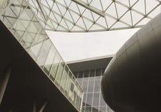 Detalle del proyecto de la techumbre de Milano Fiera Foto de archivo libre de regalías