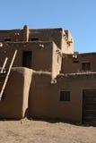 Detalle del pueblo de Taos Fotos de archivo libres de regalías