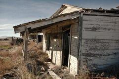 Detalle del pueblo fantasma Imagen de archivo libre de regalías