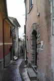 detalle del pueblo medieval del arcola s cerca del spezia del la Foto de archivo libre de regalías