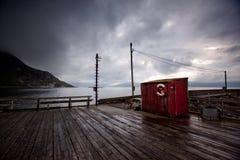 Detalle del pueblo pesquero  Fotos de archivo