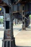 Detalle del puente Imagen de archivo libre de regalías