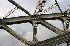 Detalle del puente de braguero Imágenes de archivo libres de regalías