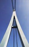Detalle del puente de cuerda Imagen de archivo libre de regalías