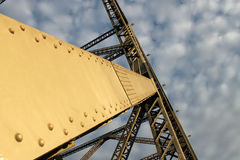 Detalle del puente de la historia Fotos de archivo libres de regalías