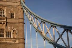 Detalle del puente de la torre Imagenes de archivo