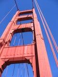 Detalle del puente de puerta de oro Imagen de archivo