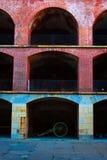Detalle del punto del fuerte Fotografía de archivo