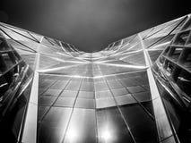 Detalle del rascacielos moderno Imagen de archivo libre de regalías