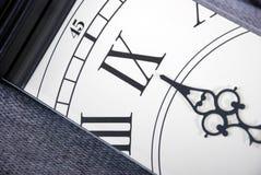 Detalle del reloj imágenes de archivo libres de regalías