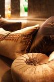 Detalle del sofá Foto de archivo
