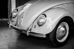 Detalle del subcompact Volkswagen Beetle fotografía de archivo