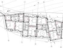 Detalle del suelo del edificio ilustración del vector