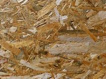 Detalle del tablero de partícula del pedazo de madera con textura fuerte foto de archivo