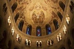 Detalle del techo de catedral fotos de archivo libres de regalías