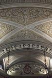 Detalle del techo de la cripta debajo de la catedral del Duomo Fotografía de archivo