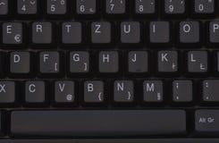 Detalle del teclado Fotos de archivo