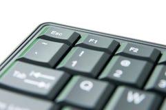 Detalle del teclado fotografía de archivo libre de regalías