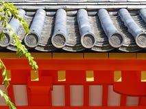 Detalle del tejado Foto de archivo