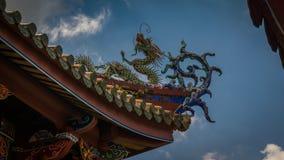 Detalle del tejado del templo BO-Uno Fotos de archivo