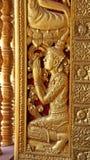 Detalle del templo budista Foto de archivo