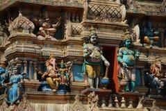 Detalle del templo de Bull, Bangalore, la India Imagen de archivo