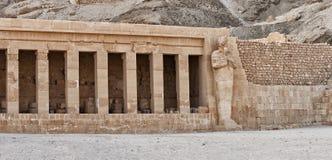 Detalle del templo de Hatshepsut imágenes de archivo libres de regalías
