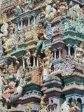 Detalle del templo hindú imagenes de archivo