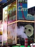 Detalle del Times Square Fotos de archivo libres de regalías