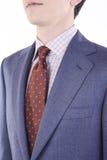 Detalle del traje de un hombre fotografía de archivo
