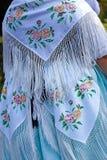 Detalle del traje popular alemán tradicional fotos de archivo libres de regalías