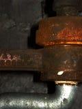 Detalle del tubo foto de archivo