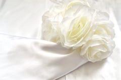 Detalle 2 del vestido de boda Foto de archivo libre de regalías
