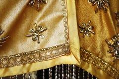 Detalle del vestido del monje Fotografía de archivo
