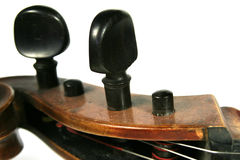 Detalle del violoncelo Foto de archivo libre de regalías