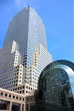 Detalle del World Trade Center Imagen de archivo libre de regalías