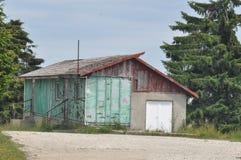 Detalle deteriorado de la casa Foto de archivo libre de regalías