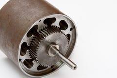 Detalle eléctrico del motor Fotografía de archivo