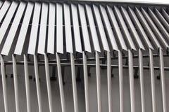 Detalle el tiro de la pared modelada, característica arquitectónica Imágenes de archivo libres de regalías