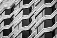 Detalle el tiro de la pared modelada, característica arquitectónica Fotografía de archivo