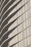 Detalle el tiro de la pared modelada, característica arquitectónica Foto de archivo