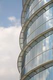 Detalle elegante de la ventana del rascacielos Foto de archivo libre de regalías