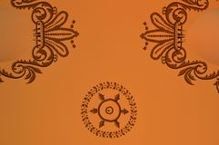 Detalle en el techo del bazar ptian de Egy libre illustration
