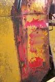 DETALLE EN RUINA DEL COCHE VIEJO DEL VINTAGE Fotos de archivo libres de regalías