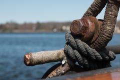 Detalle en un barco Imágenes de archivo libres de regalías